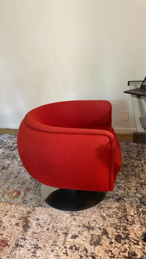 Knoll studio red chair for Sale in Seattle, WA