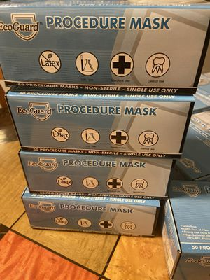 FDA approved- Level 2 Mask - High Bacterial Filtration Efficiency (BFE) Medical Grade for Sale in Anaheim, CA