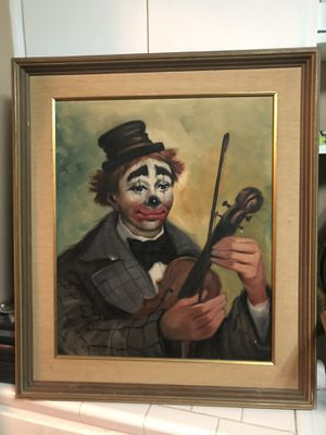 Clown picture for Sale in Lakeland, FL