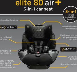 safety 1st elite 80 3-in-1 car seat for Sale in Island Lake,  IL