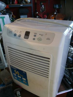 Energy star 50 pint dehumidifier $65 works great for Sale in Cleveland, OH