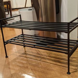 2-Tier Stackable 9 Pair Shoe Rack for Sale in New York, NY