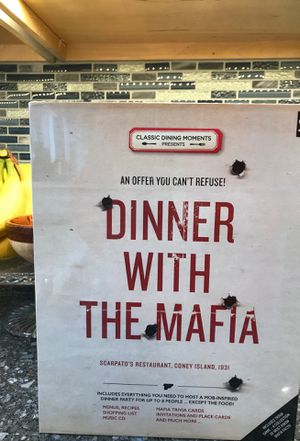 Dinner with the Mafia board game for Sale in West Caldwell, NJ