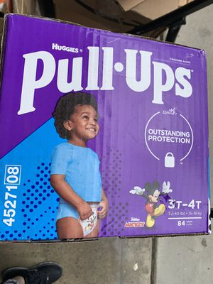 Huggies Pull Ups size 3T-4T for Sale in Fontana, CA