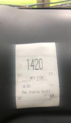 1/1 Travis Scott receipt for Sale in Washington Grove, MD