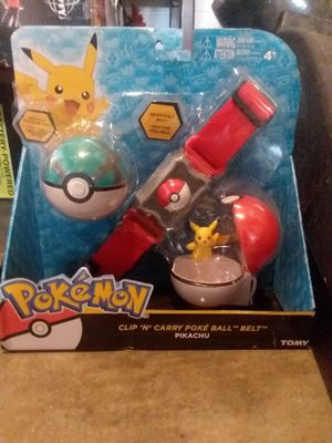 pokemon clip n carry poke ball belt for Sale in Kingsport, TN