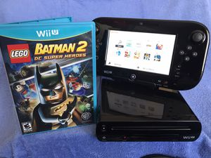 32gb Nintendo Wii U / WiiU video game system with 2 games and plays the older regular Wii games too! for Sale in San Diego, CA