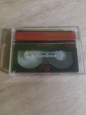 Sony MiniDV DVM60 Excelllence Video Cassette for Sale in Springfield, VA