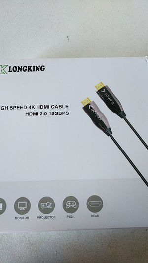 Klong Kong HDMI cable 4k for Sale in Fort Lauderdale, FL