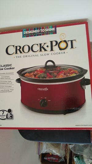 Crock pot 7 quart classic unopened for Sale in NJ, US