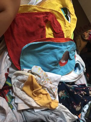 Baby boy clothes and bibs for Sale in Sarasota, FL