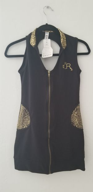 Black and gold dress for women for Sale in Hollywood, FL