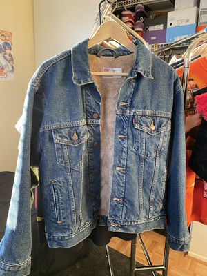Levi's Denim jacket Sherpa for Sale in Rancho Cucamonga, CA
