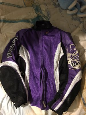 Women's motorcycle jacket and helmet for Sale in White Marsh, MD
