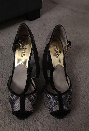 Michael Kors Tan/Brown Size 10 Heels for Sale in Santa Monica, CA