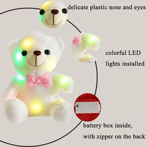 "LED Glow Bow Tie Teddy Bear Stuffed Animals Christmas/Birthday/Wedding Gift, 8"" or 12"", for Sale in Leesburg, VA"