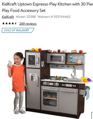 New KidKraft Uptown Expresso Kitchen for Sale in Canal Winchester, OH