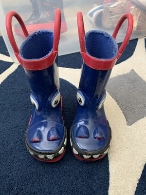 Rain boots size toddler 5/6 for Sale in Homestead, FL