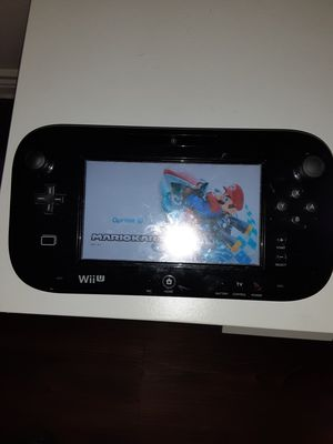 Nintendo Wii U with 4 games for Sale in Lewisville, TX