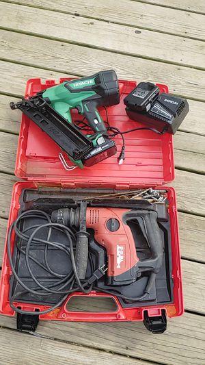 Pistola finish nueba y un drill de martillo for Sale in Landover, MD