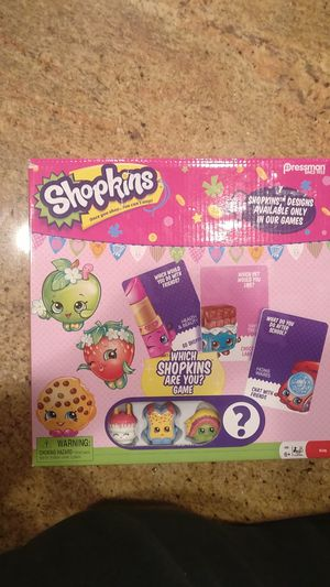 "Shopkins ""Which Shopkins Are you?"" Game Unopened New for Sale in Las Vegas, NV"