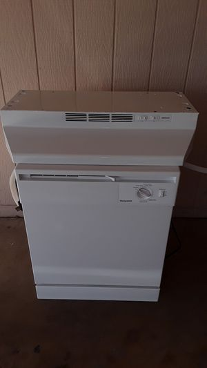 WHITE DISHWASHER AND UNDERCABINET RANGE HOOD. $ 130 for both for Sale in Glendale, AZ