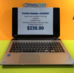 Toshiba Satellite Laptop for Sale in Vancouver, WA