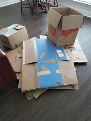 Free moving boxes for Sale in Nashville, TN