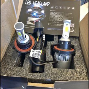 LED Car led headlights kit leds H4 H7 H8 H9 H9 H11 H10 9003 9004 9005/HB3 9006/HB4 9007 9008 H13 All size in stock Pick up with your car inf for Sale in Newburgh Heights, OH