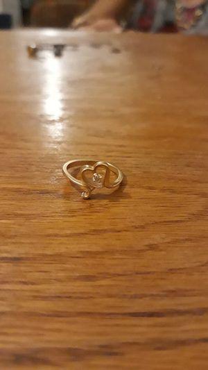 14k gold heart ring for Sale in El Mirage, AZ