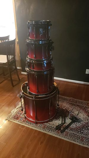 Tama 5pc superstar shell kit with soft cases. for Sale in Norfolk, VA