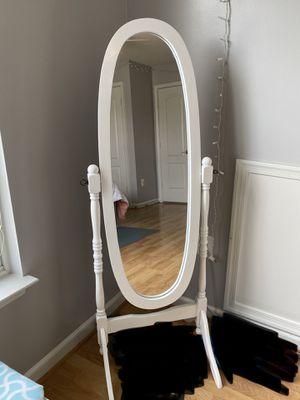 Stand Up Full Body Length Mirror for Sale in Woodbridge, VA