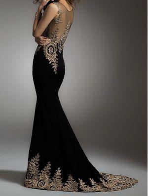 Camille La Vie black & gold dress for Sale in San Bernardino, CA
