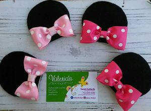 Minnie mouse ears hair clips for Sale in Las Vegas, NV