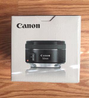 Canon EF 50 mm f/1.8 STM Lens for Sale in Alafaya, FL