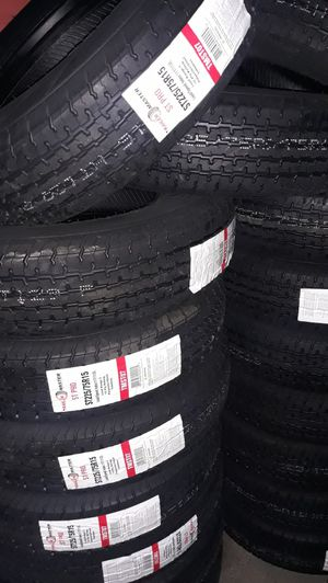 trailers tires st225 75 r15 10ply 4pcs new$260 for Sale in Riverside, CA