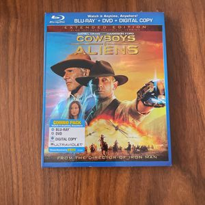 Cowboys And Aliens - BluRay DVD for Sale in Bailey's Crossroads, VA