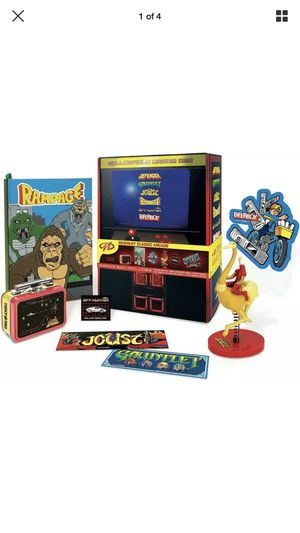 Classic Arcade Video Games Never Opened Loot Box Gift Rampage Gauntlet Paper Boy Collectibles for Sale in Pomona, CA