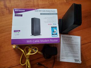 Netgear N300 WiFi Cable Modem Router for Sale in Miami, FL