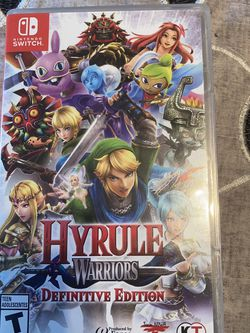 Nintendo Switch Hyrule Warriors Definitive Addition for Sale in Happy Valley,  OR