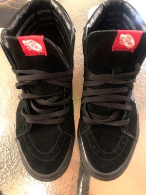 Vans black shoes for Sale in Cincinnati, OH