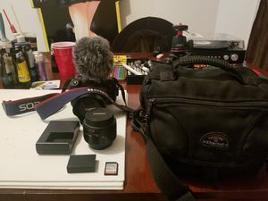 Canon Rebel EOS T6i + accessories for Sale in North Riverside, IL