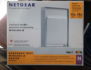 Netgear rangemax wireless-N router for Sale in Bryan, TX