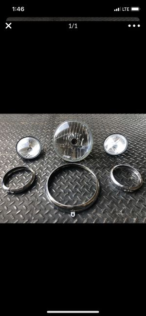 Harley Davidson front head light assembly for Sale in Lawndale, CA