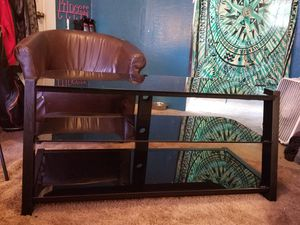 Tempered Glas TV Stand for Sale in Newark, OH