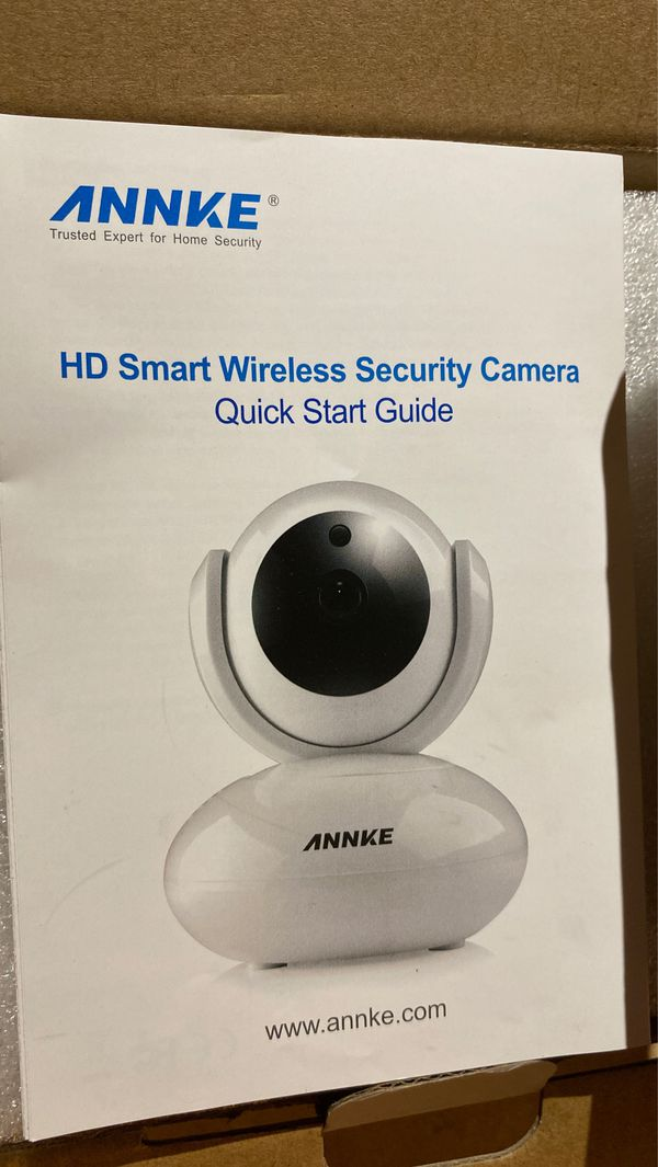 Annke hd smart wireless security camera