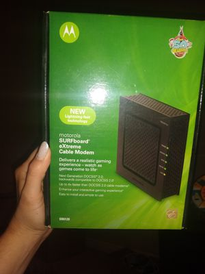 Motorola DOCSIS 3.0 cable modem for Sale in Meridian, ID