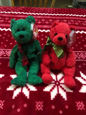 Ty Beanie Baby Christmas set Wallace and Mistletoe Mint Condition for Sale in Kannapolis, NC