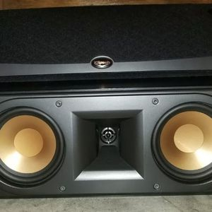 Klipsch Subwoofer And Center 2way Speaker for Sale in Tustin, CA