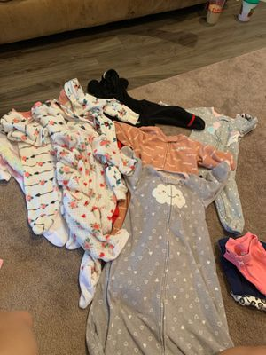 Baby girl clothes 9 months onesies 6-9 months for Sale in Arlington, TX